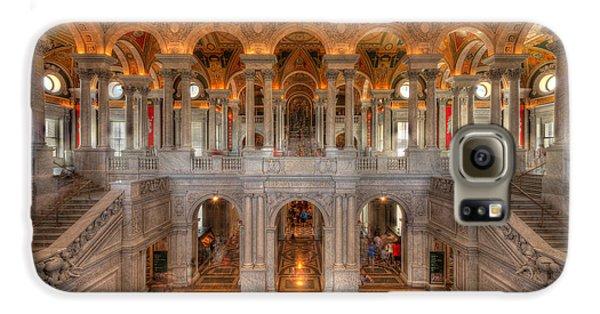 Library Of Congress Galaxy S6 Case by Steve Gadomski