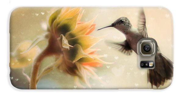 Like A Moth To A Flame Galaxy S6 Case by Amy Tyler