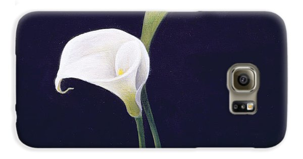 Lily Galaxy S6 Case by Lincoln Seligman