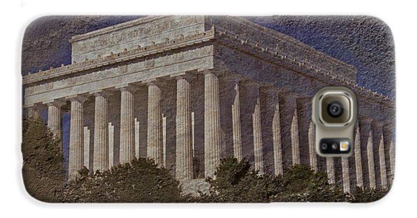 Lincoln Memorial Galaxy S6 Case by Skip Willits