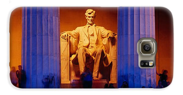 Lincoln Memorial, Washington Dc Galaxy S6 Case by Panoramic Images