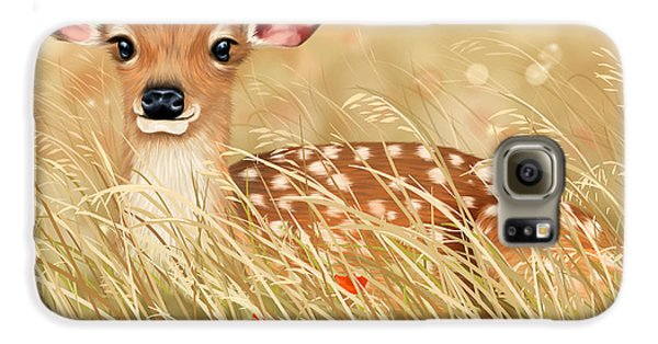 Little Fawn Galaxy S6 Case by Veronica Minozzi