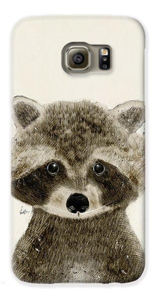 Little Raccoon Galaxy S6 Case by Bri B
