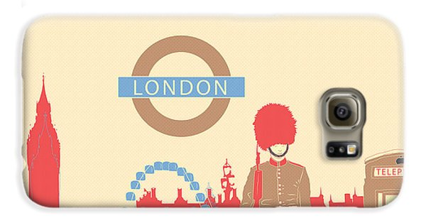 London England Galaxy S6 Case by Famenxt DB