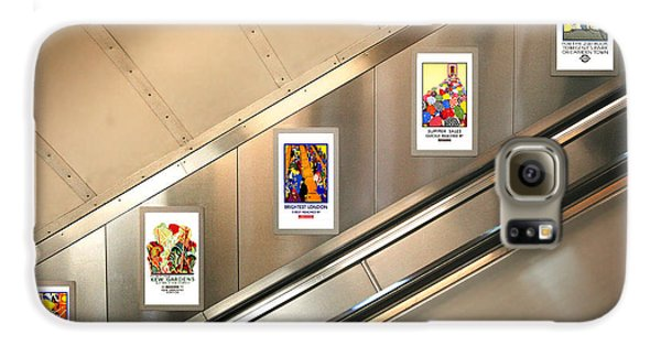 London Underground Poster Collection Galaxy S6 Case by Mark Rogan