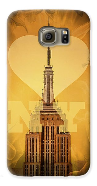 Love New York Galaxy S6 Case by Az Jackson