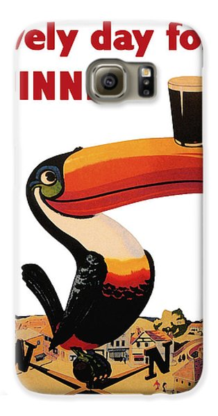Lovely Day For A Guinness Galaxy S6 Case by Nomad Art