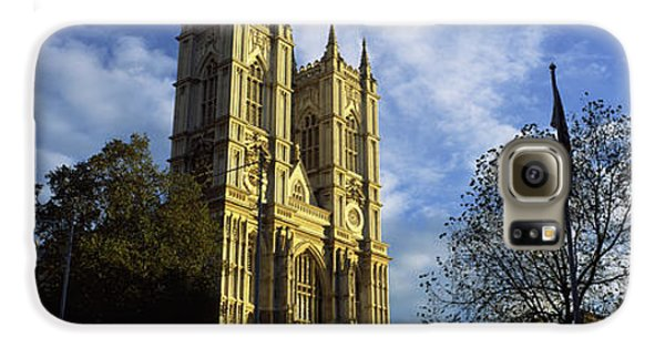 Low Angle View Of An Abbey, Westminster Galaxy S6 Case by Panoramic Images