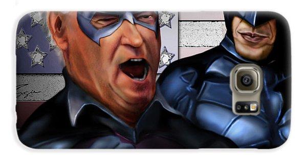 Mad Men Series 3 Of 6 - Obama And Biden Galaxy S6 Case by Reggie Duffie
