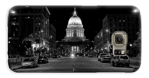 Madison Wi Capitol Dome Galaxy Case by Trever Miller