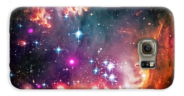 Magellanic Cloud 2 Galaxy S6 Case by Jennifer Rondinelli Reilly - Fine Art Photography
