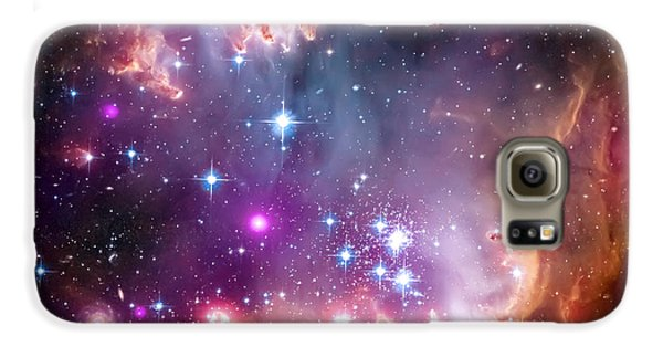 Magellanic Cloud 3 Galaxy S6 Case by Jennifer Rondinelli Reilly - Fine Art Photography