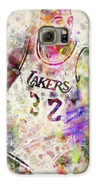 Magic Johnson Galaxy S6 Case by Aged Pixel