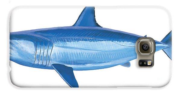 Mako Shark Galaxy S6 Case by Carey Chen