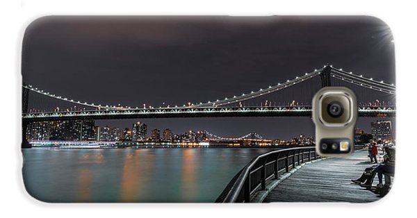 Manhattan Bridge - New York - Usa 2 Galaxy S6 Case by Larry Marshall