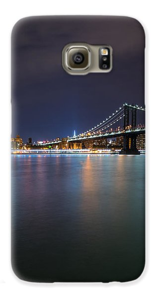 Manhattan Bridge - New York - Usa Galaxy S6 Case by Larry Marshall