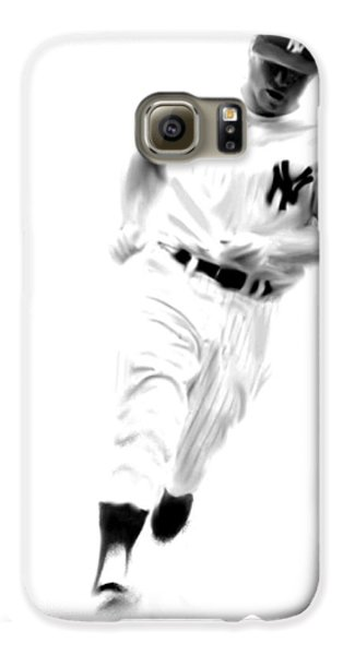 Mantles Gate  Mickey Mantle Galaxy S6 Case by Iconic Images Art Gallery David Pucciarelli