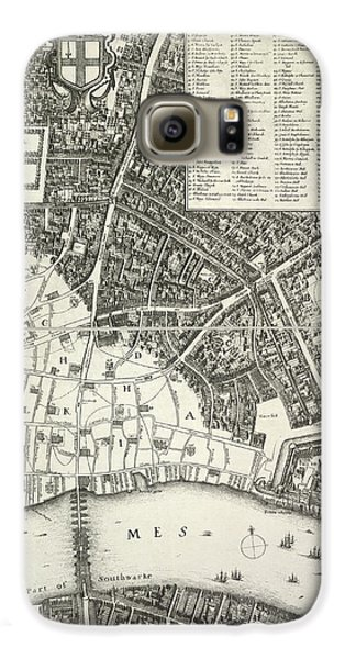Map Of London Galaxy S6 Case by British Library