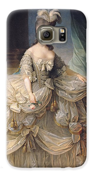 Marie Antoinette Queen Of France Galaxy S6 Case by Elisabeth Louise Vigee-Lebrun