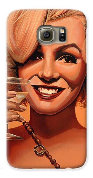 Marilyn Monroe 5 Galaxy S6 Case by Paul Meijering