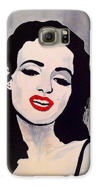 Marilyn Monroe Aka Norma Jean Artistic Impression Samsung Galaxy Case by Saundra Myles