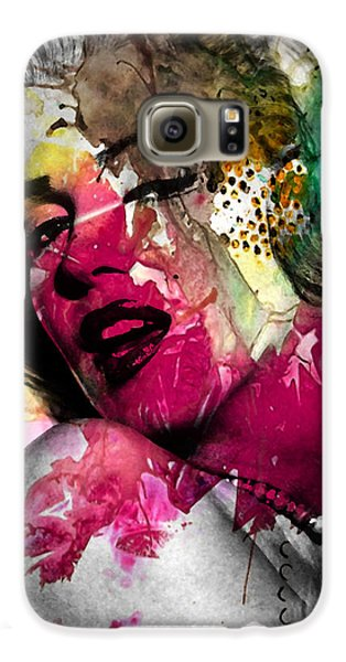 Marilyn Monroe Galaxy S6 Case by Mark Ashkenazi