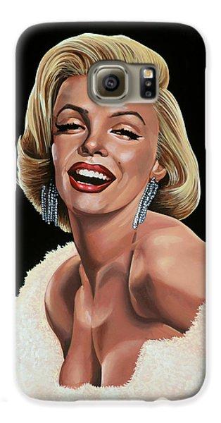 Marilyn Monroe Galaxy S6 Case by Paul Meijering