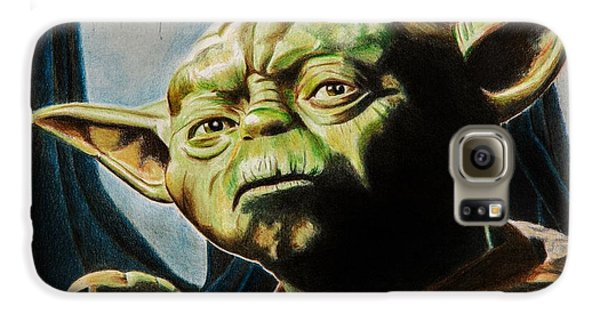 Master Yoda Galaxy S6 Case by Brian Broadway