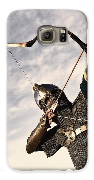 Medieval Archer Galaxy S6 Case by Holly Martin