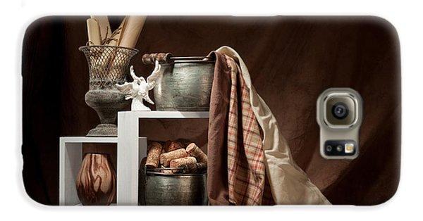 Medley Of Textures Still Life Galaxy S6 Case by Tom Mc Nemar