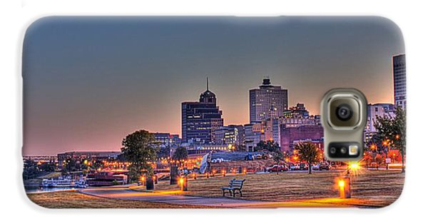 Cityscape - Skyline - Memphis At Dawn Galaxy S6 Case by Barry Jones