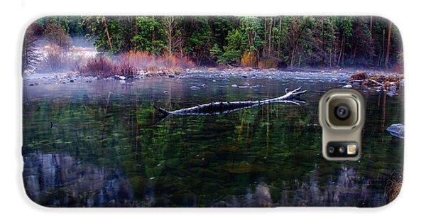 Merced River Riverscape Galaxy S6 Case by Scott McGuire