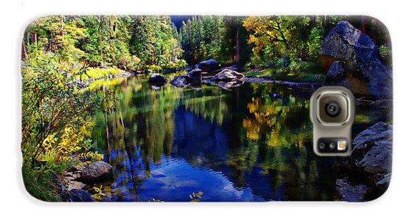 Merced River Yosemite National Park Galaxy S6 Case by Scott McGuire