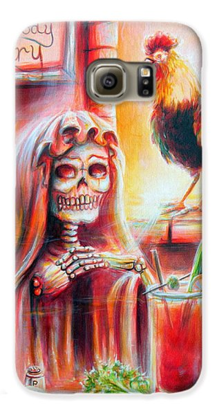 Mi Bloody Mary Galaxy S6 Case by Heather Calderon