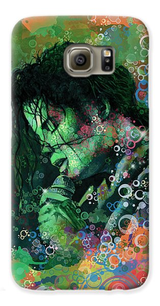 Michael Jackson 15 Galaxy S6 Case by Bekim Art