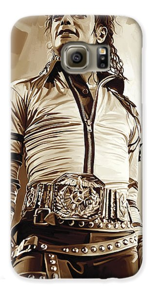 Michael Jackson Artwork 2 Galaxy S6 Case by Sheraz A