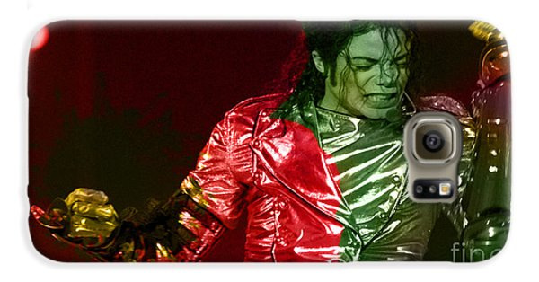 Michael Jackson Painting Galaxy S6 Case by Marvin Blaine