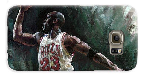 Michael Jordan Galaxy S6 Case by Ylli Haruni