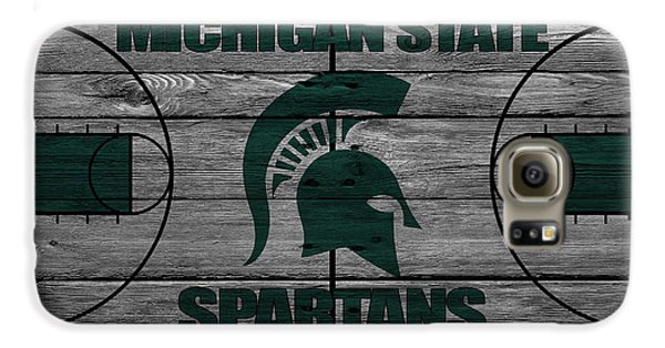 Michigan State Spartans Galaxy S6 Case by Joe Hamilton