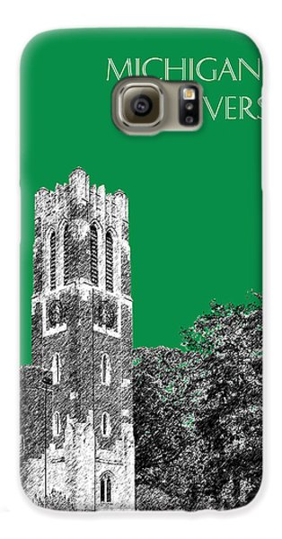 Michigan State University - Forest Green Galaxy S6 Case by DB Artist