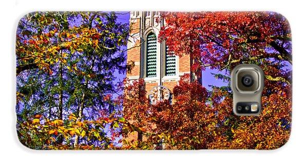Michigan State University Beaumont Tower Galaxy S6 Case by John McGraw