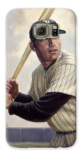 Mickey Mantle Galaxy S6 Case by Gregory Perillo