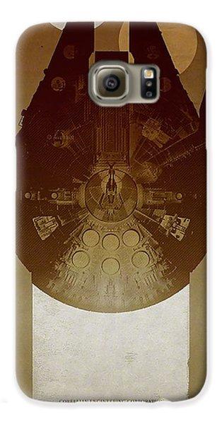 Millennium Falcon Galaxy S6 Case by Baltzgar
