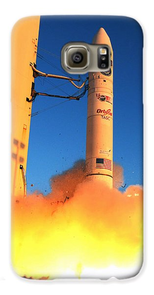 Minotaur Iv Rocket Launches Falconsat-5 Galaxy S6 Case by Science Source