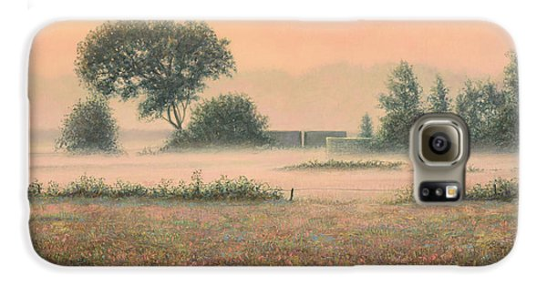 Misty Morning Galaxy S6 Case by James W Johnson