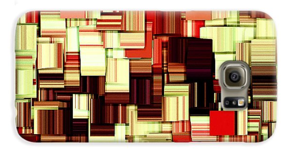 Modern Abstract Art Xvii Galaxy S6 Case by Lourry Legarde