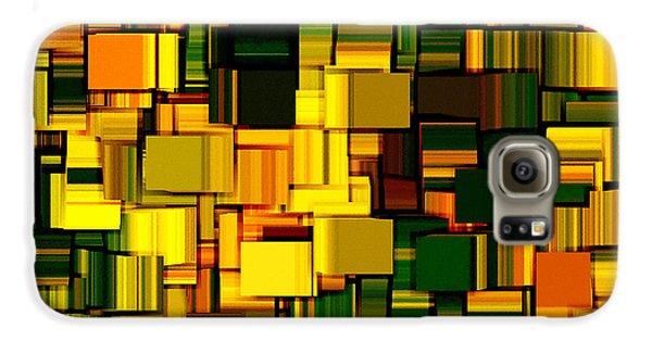 Modern Abstract Xxii Galaxy S6 Case by Lourry Legarde