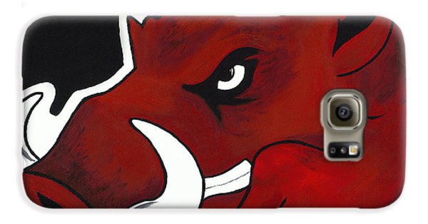 Modern Hog Galaxy S6 Case by Jon Cotroneo
