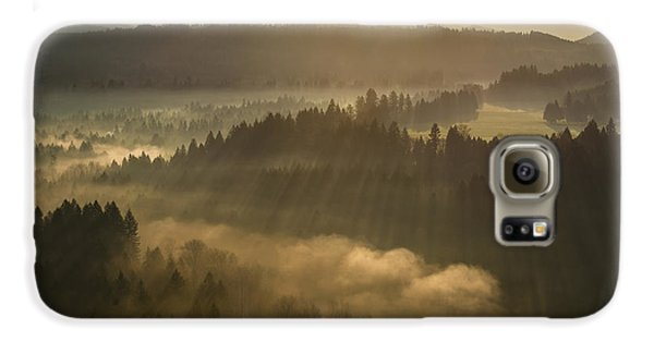 Morning Has Broken Samsung Galaxy Case by Lori Grimmett