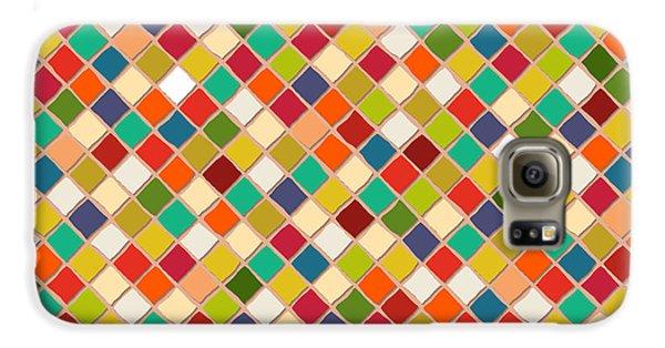 Mosaico Galaxy S6 Case by Sharon Turner